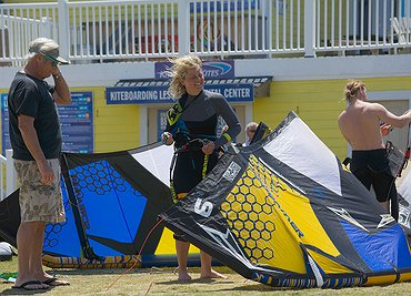 Blast Kiteboarding UK EPIC dealer in OBX 2014