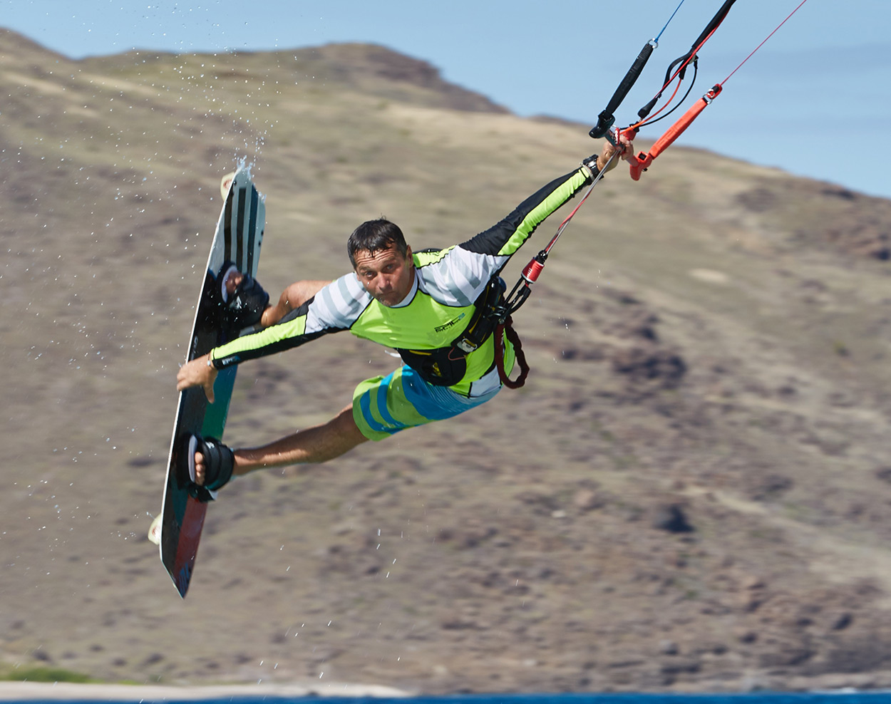 EPIC KITES KITEBOARDING | 6G Renegade Infinity V5 Kite Action