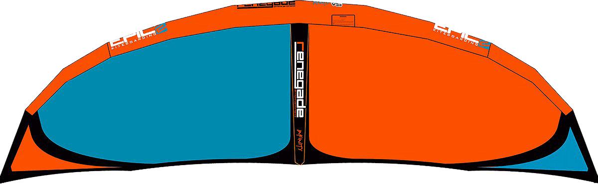 EPIC KITES KITEBOARDING | 6G Renegade Infinity V5 Kite Colors
