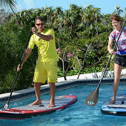 """Inflatable Stand Up Paddleboards (SUP) 10'0"""" (RED)"""