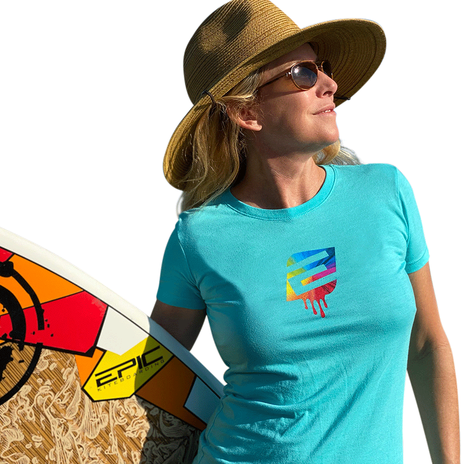 Blue Women's Epic Kites T-Shirt