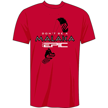 Don't Be a Malaka - Fly Epic T-Shirt Back
