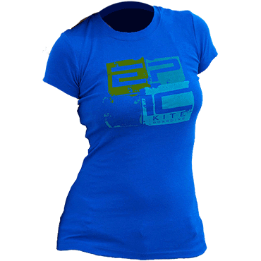 T-Shirt Ladies Blue Tank Top