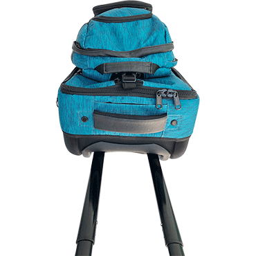 Roller Backpack Top View
