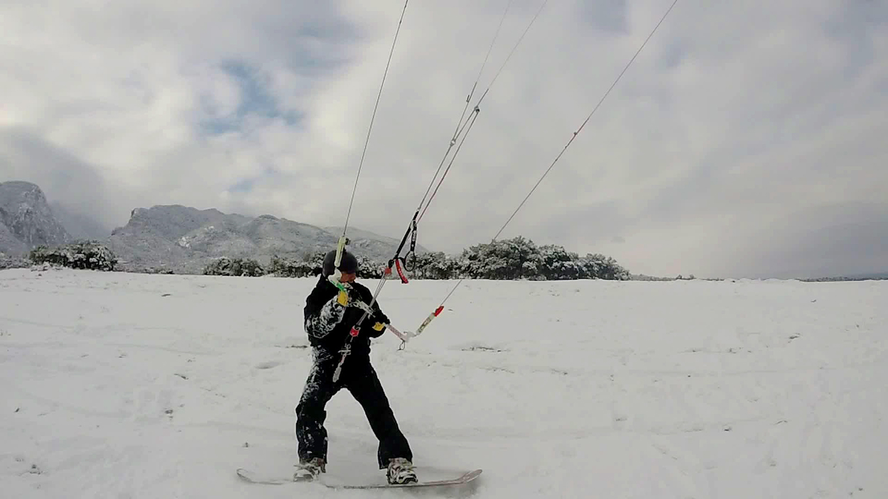 Epic Kites Snow Kiting