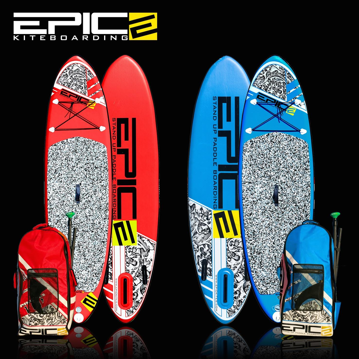 Epic SUP inflatable boards just came in