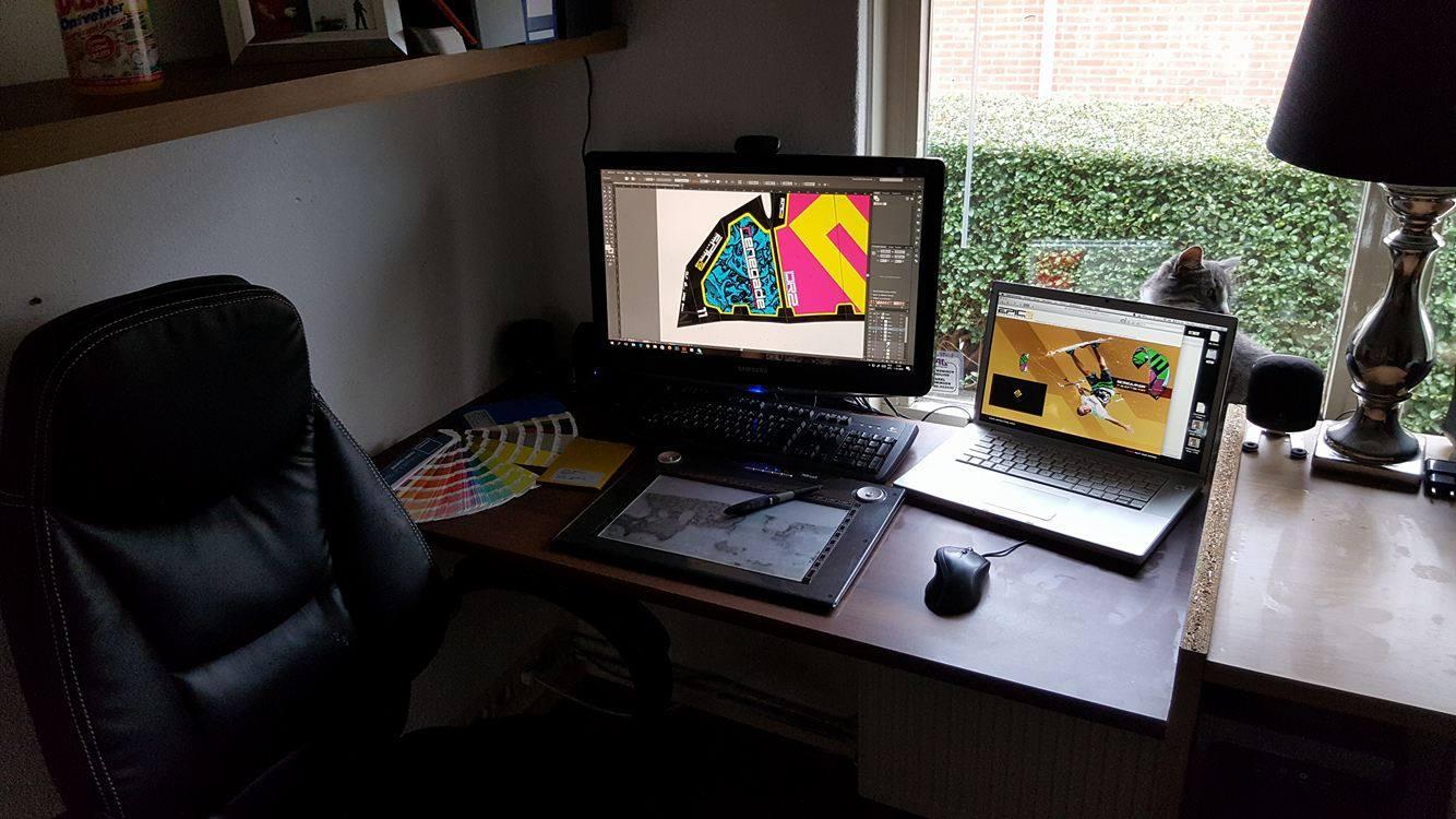 The Dream Job - Our Graphic guru, Jeroen Tump spills the beans