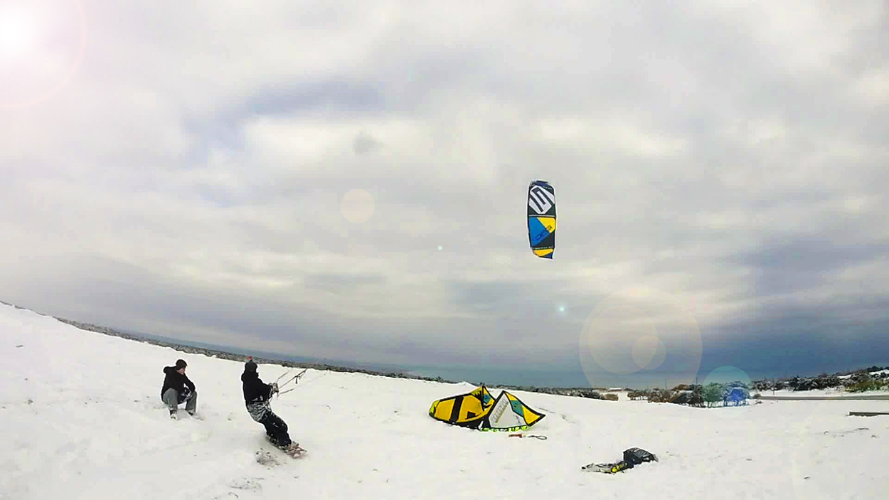 EPIC's snow kite tips