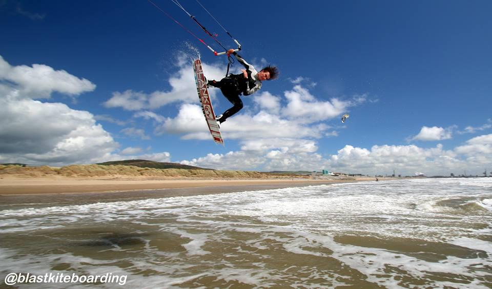 Tom Butler Epic Kites Kiteboarding Rider