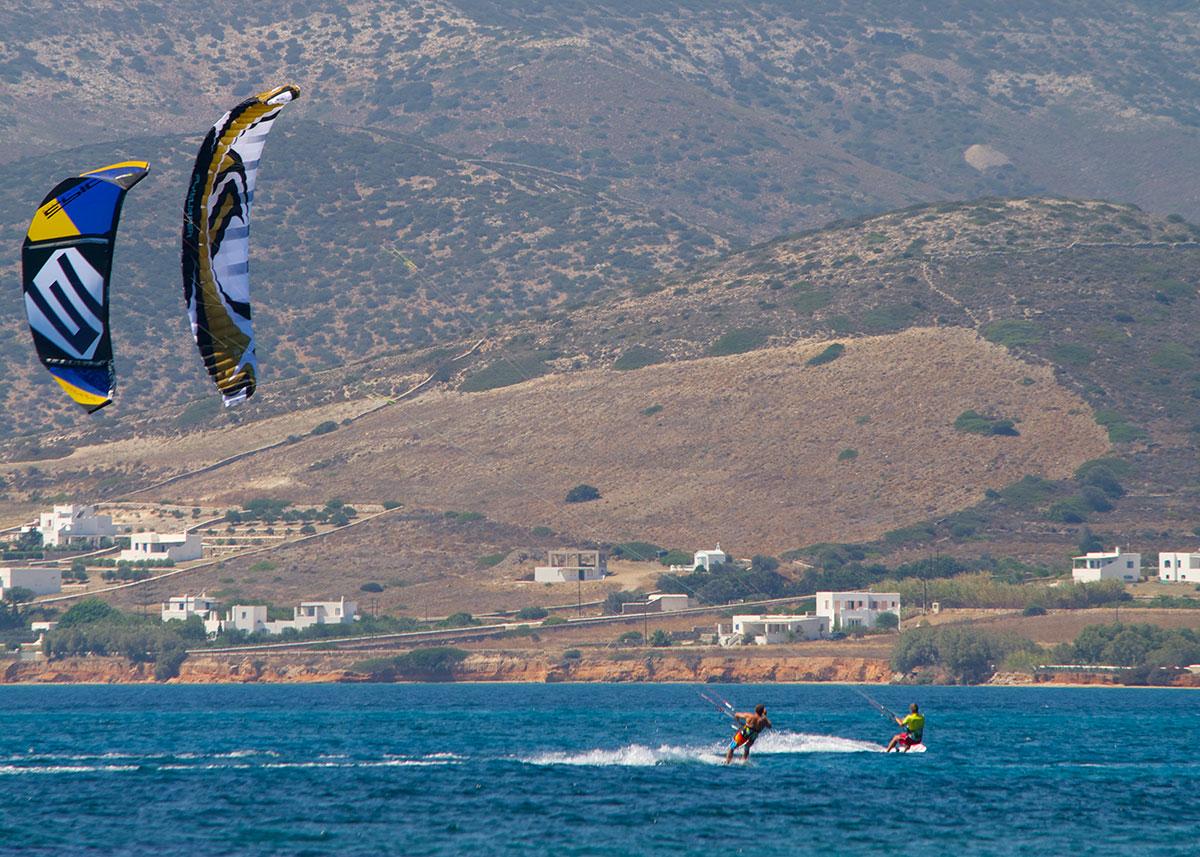 Epic Kites Kiteboarding Photos Greece Paros 2014
