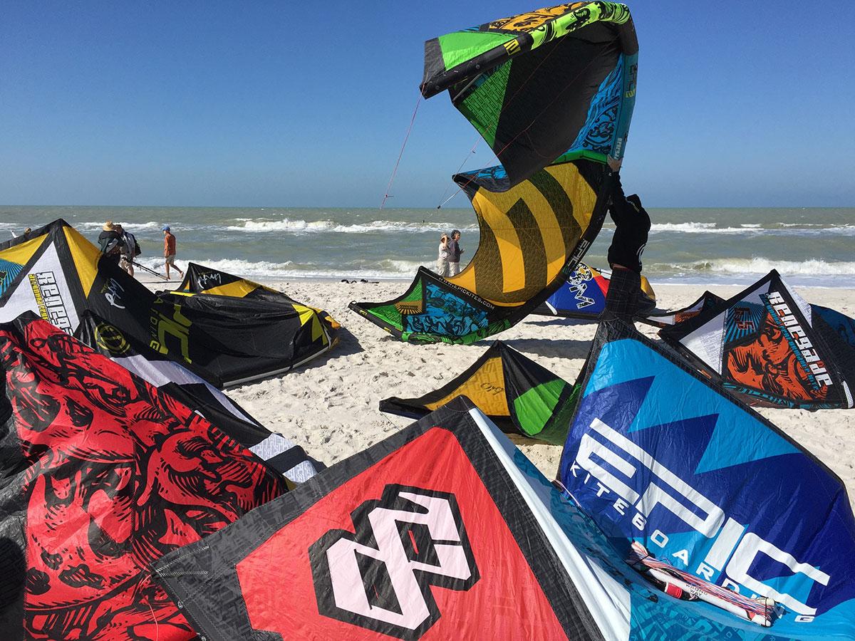 Epic Kites Kiteboarding Photos Naples Florida Big Demo