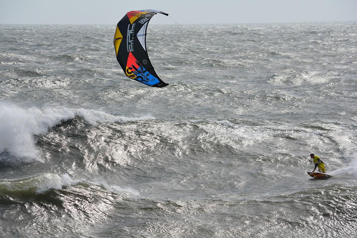 Epic Kites Kiteboarding Photos Surf Kite In Action In