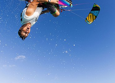 Turks and Caicos 2015 kiteboarding