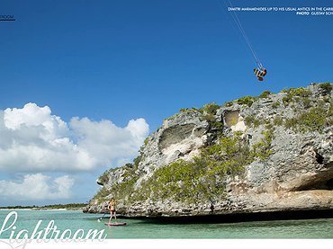 Dimitri Maramenides Up to His Usual Antics in the Caribbean