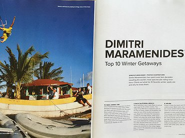Dimitri Maramenides' - Top 10 Winter Getaways