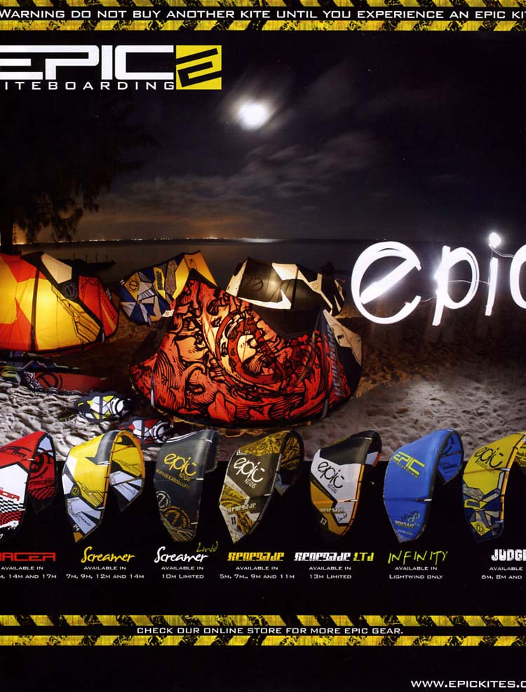 Epic Ad Epic Kites Gear Moonlight