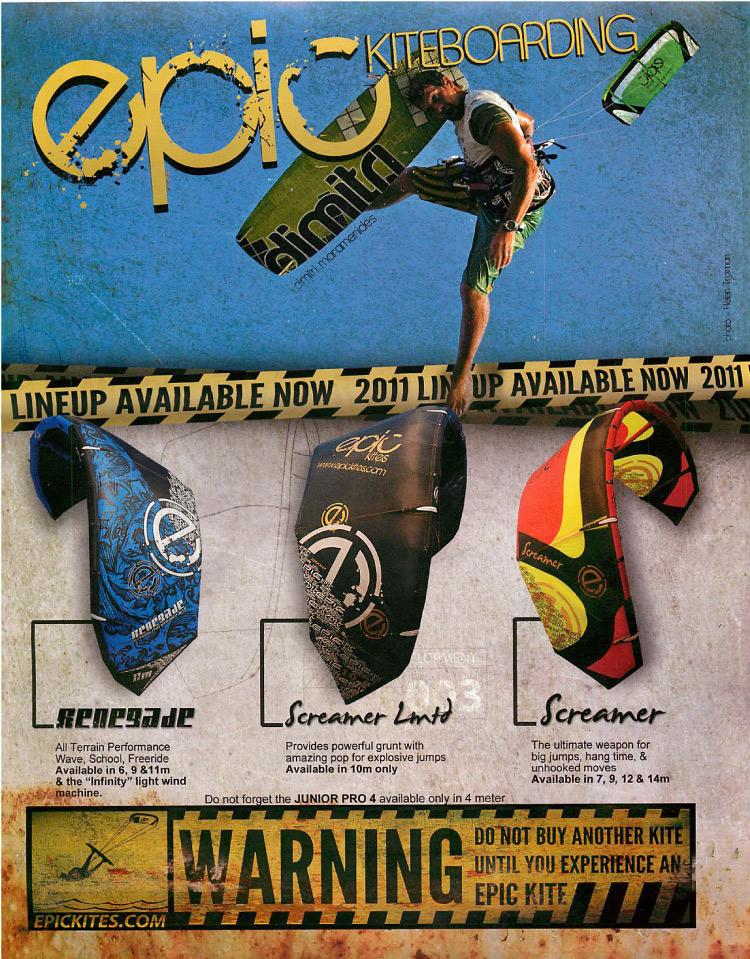 Epic Ad Renegade, Screamer, Screamer LTD