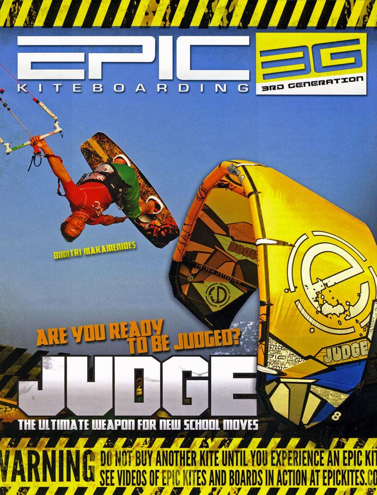 Epic Judge Ad
