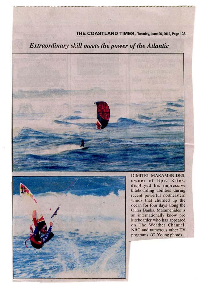 Epic Surf Coastland Times