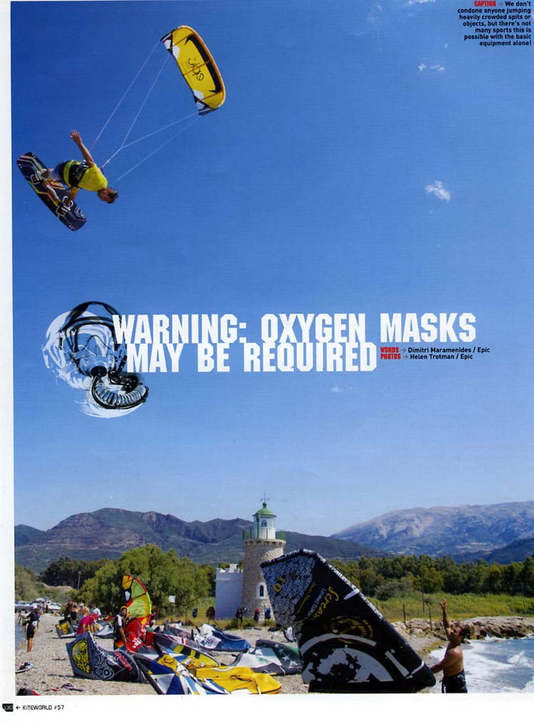Greece Trip Oxygen Mask Required