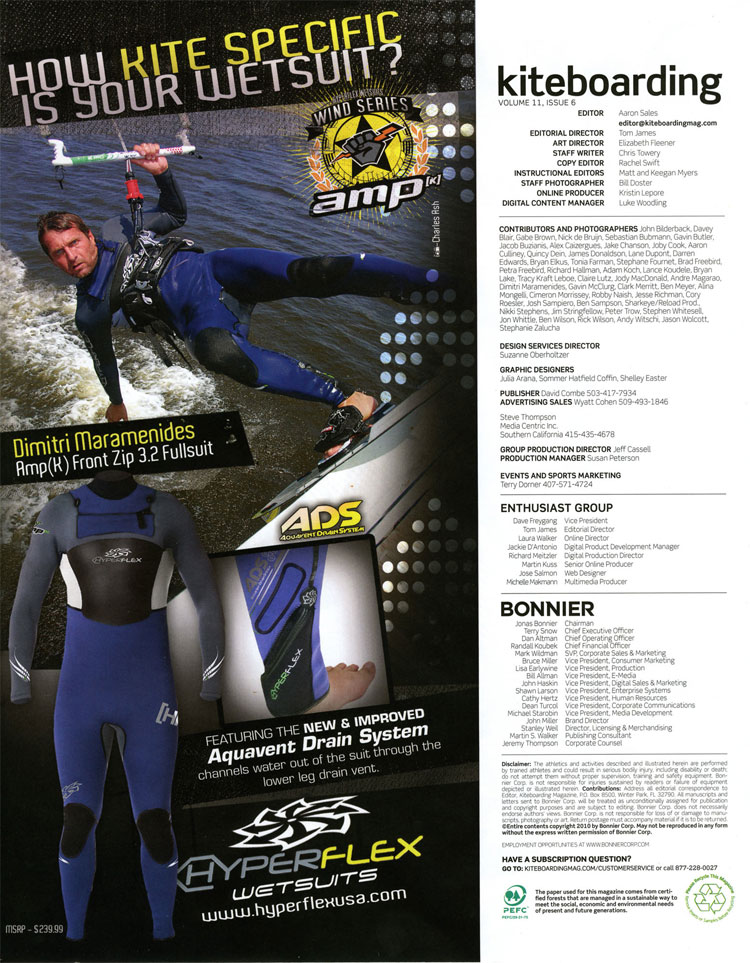 Hyperflex ad How Kite Specific Is Your Wet Suit