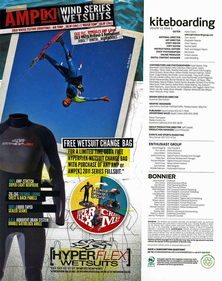 Hyperflex ad Wind Series Wetsuits