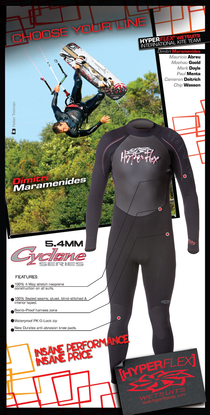 HyperFlex Cyclone Wetsuit Ad