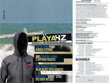 Hyperflex Playa wetsuit ad