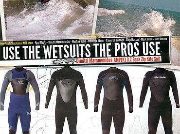 Hyperflex wetsuit ad