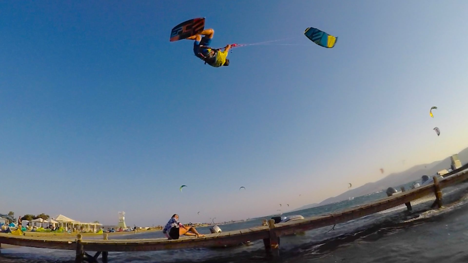 50 years old Dimitri King of the Air - with Epic Kites Kiteboarding