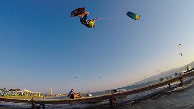 The Kitesurfing Dog video