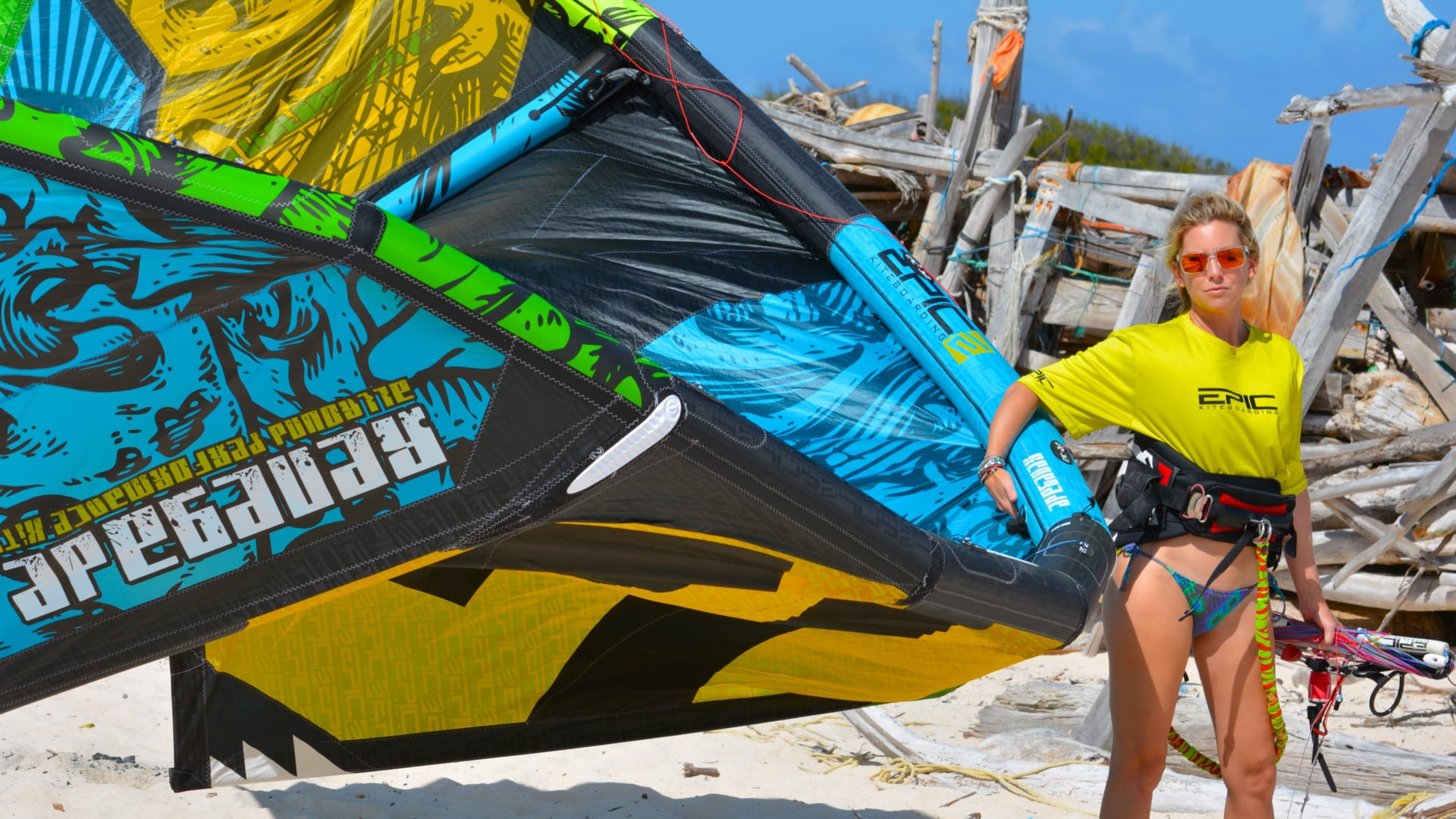 The best weapon for Kiteboarding - with Epic Kites Kiteboarding