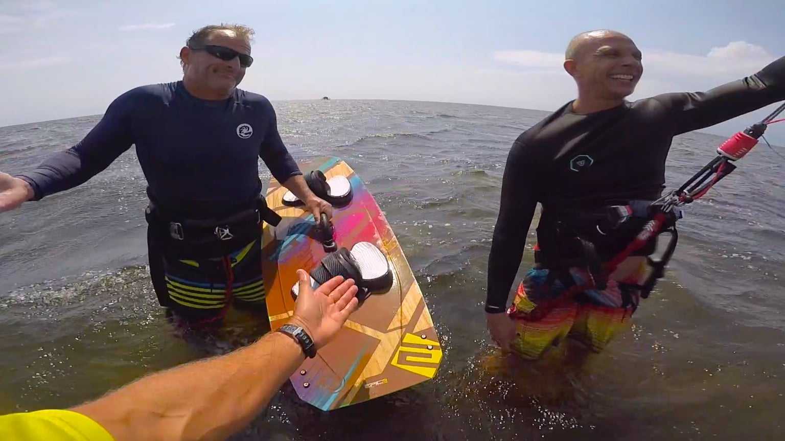 Big board vs Small board - with Epic Kites Kiteboarding