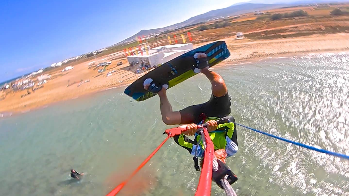 Blind kiter - with Epic Kites Kiteboarding