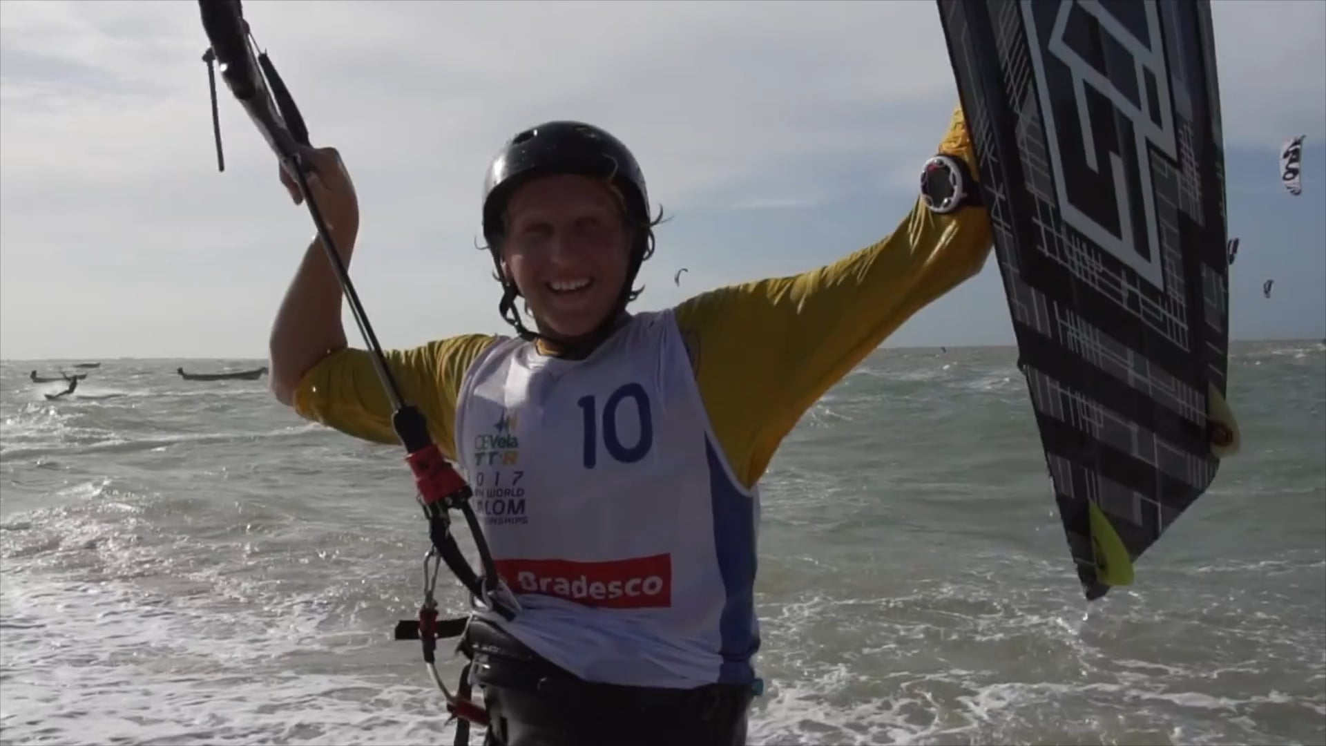 BRAZIL Twin Tip YOUTH WORLD CUP race 2017 - with Epic Kites Kiteboarding
