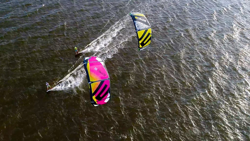 Cameron and Billy Parker rescue adventure - with Epic Kites Kiteboarding