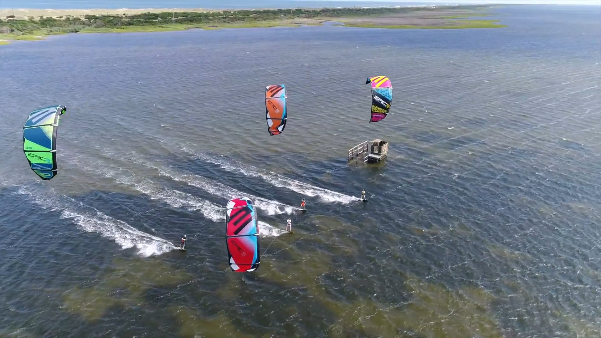 Cameron Boot Camp - with Epic Kites Kiteboarding
