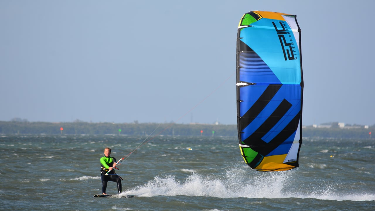 Cameron the screamer - with Epic Kites Kiteboarding