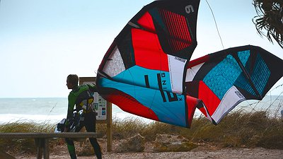 KITE ACCIDENT NO TIME FOR STITCHES video
