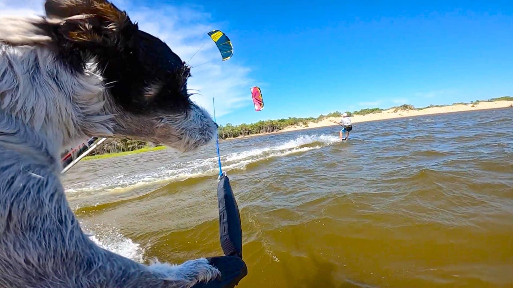 Crazy dog kiter - with Epic Kites Kiteboarding