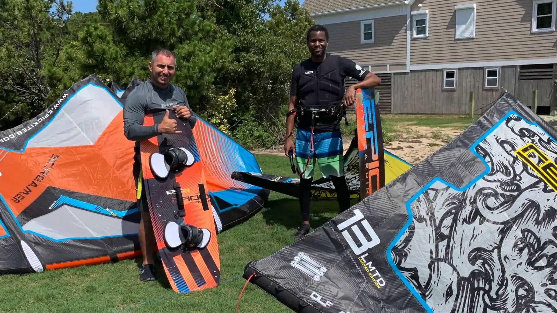 Dimitri Boot Camp with John & Darnel from Guam - with Epic Kites Kiteboarding