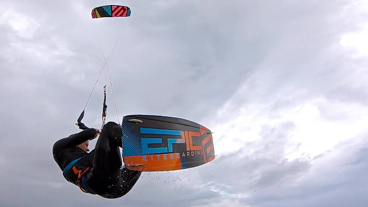 Dimitri Boot Camp with KIM EKLUND from Sweden - with Epic Kites Kiteboarding