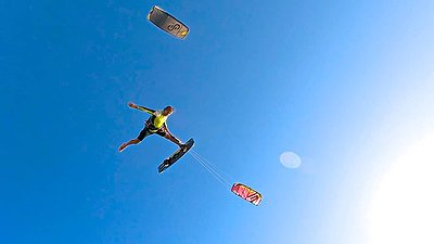 Don't be a MALAKA go kiteboarding