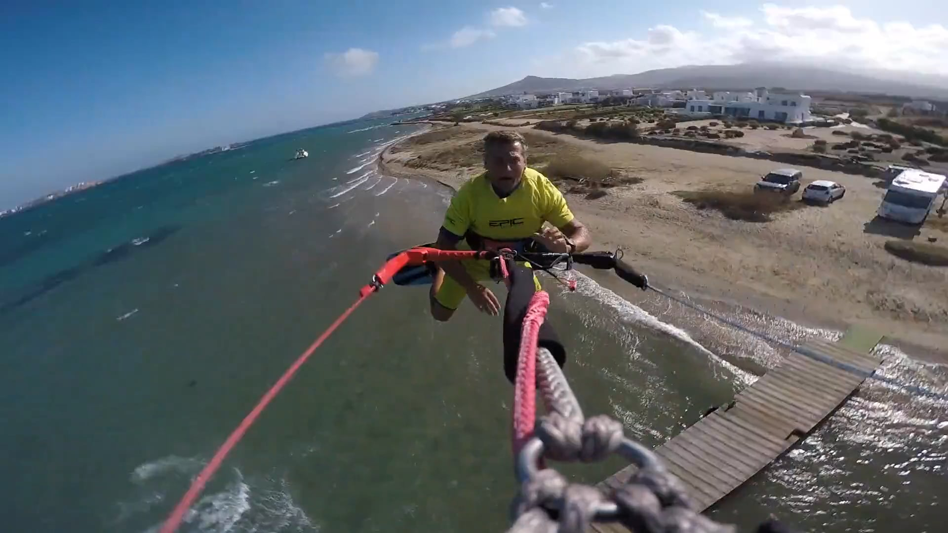 DONT TEXT AND DRIVE - with Epic Kites Kiteboarding