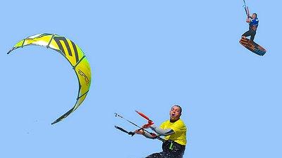 Dumb and Dumber kitesurfing