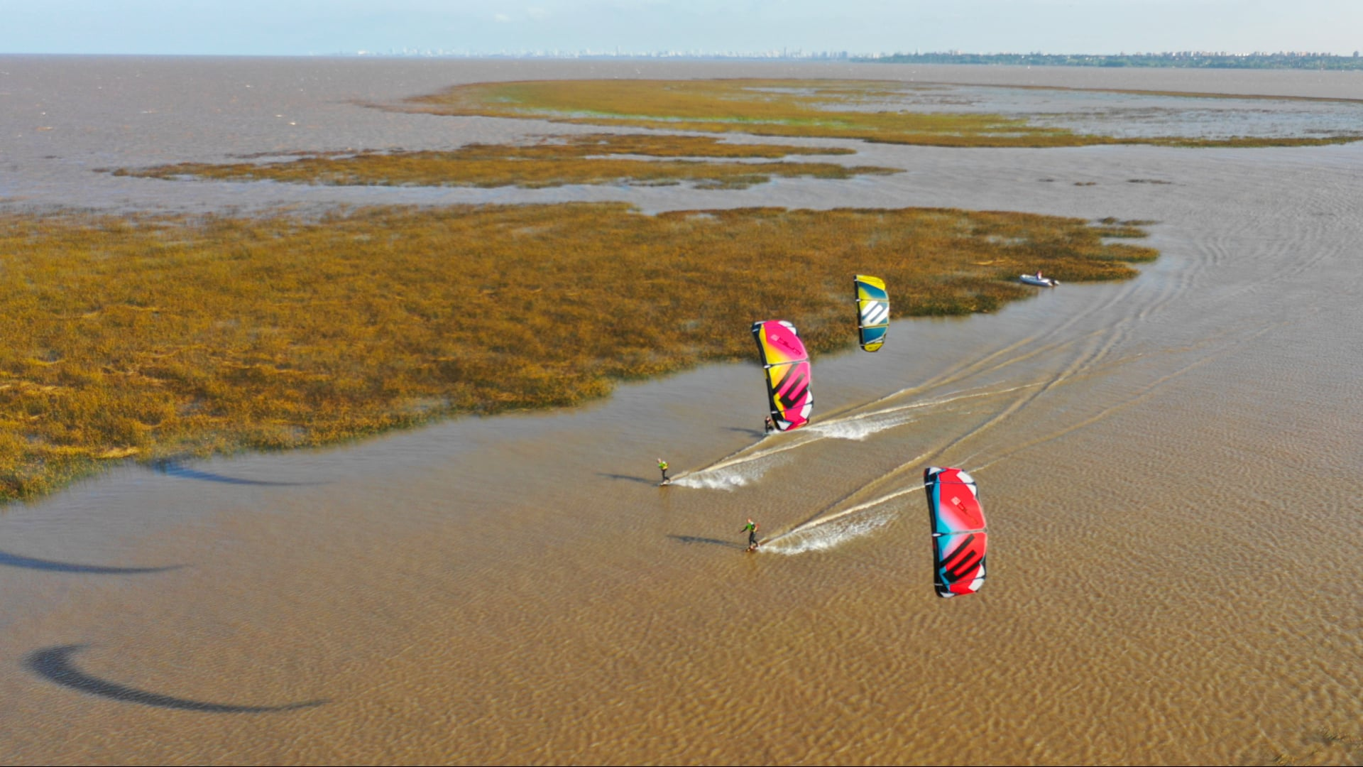 Dumb & Dumber kiting in Argentina - with Epic Kites Kiteboarding