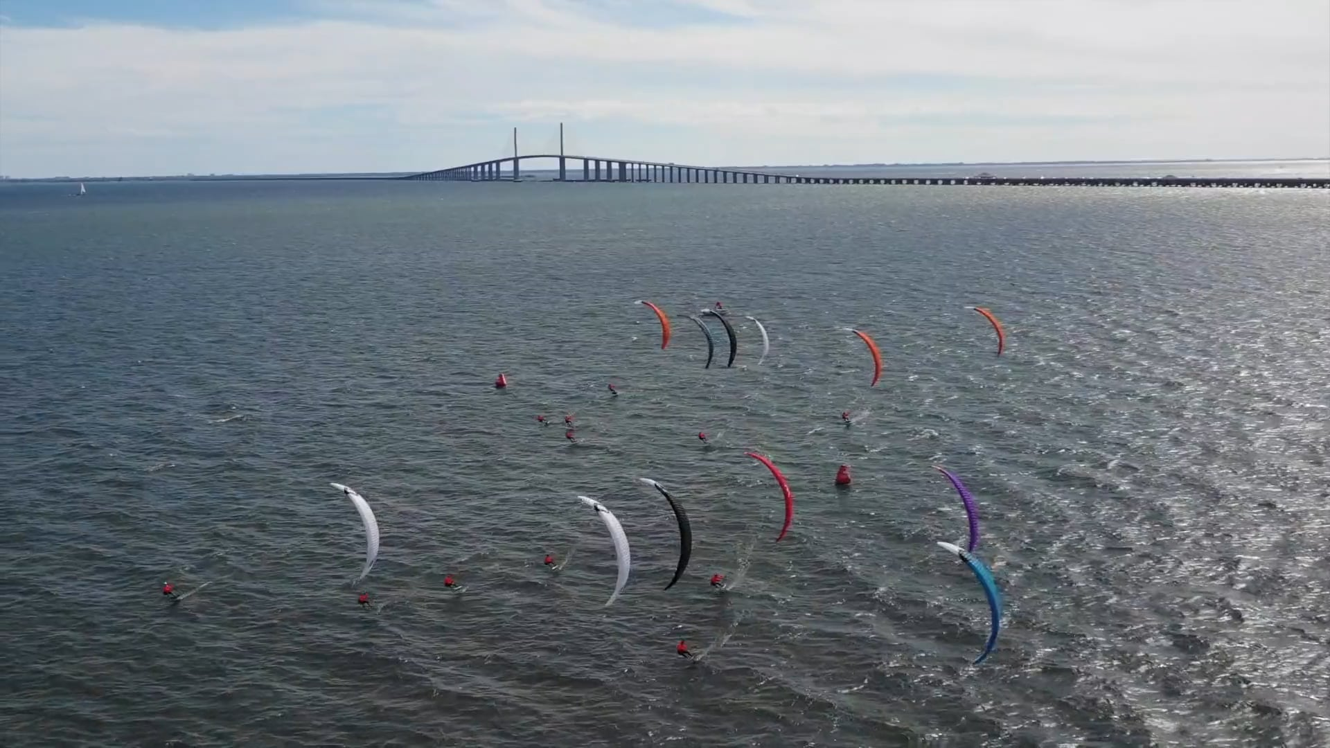 ELITE Hydrofoil kiteboarding competition - with Epic Kites Kiteboarding