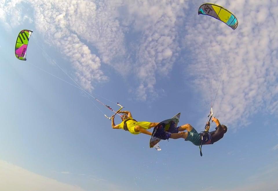 Epic crashes 2 - with Epic Kites Kiteboarding
