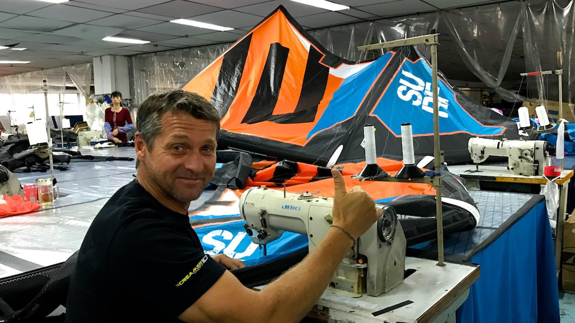EPIC KITE FACTORY - with Epic Kites Kiteboarding