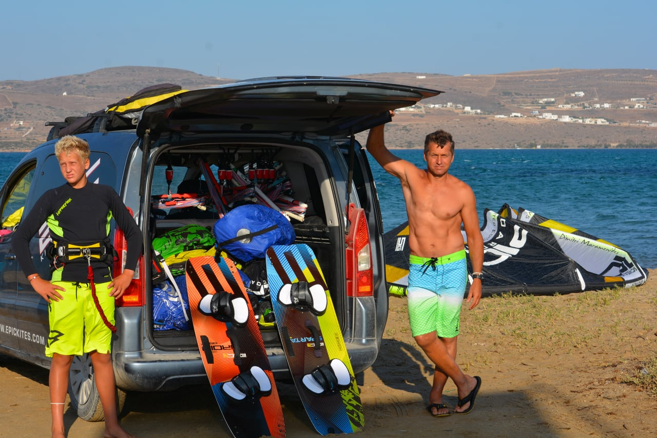 Father & son epic adventure 3 - with Epic Kites Kiteboarding